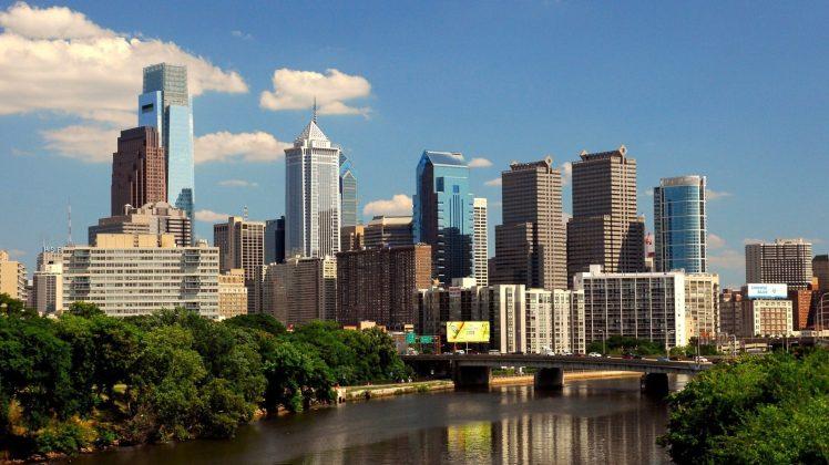 Philadelphia Water Usa City HD Wallpapers